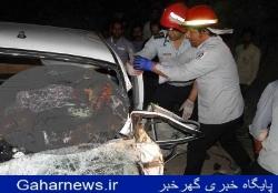تصادف خونین در محور الیگودرز-اصفهان