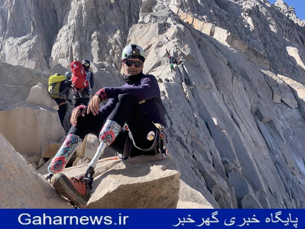 سجاد سالاروند فوق حرفه ای ترین کوهنورد جهان