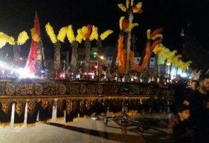 گزارش تصویری شب هفتم محرم شهرستان دورود