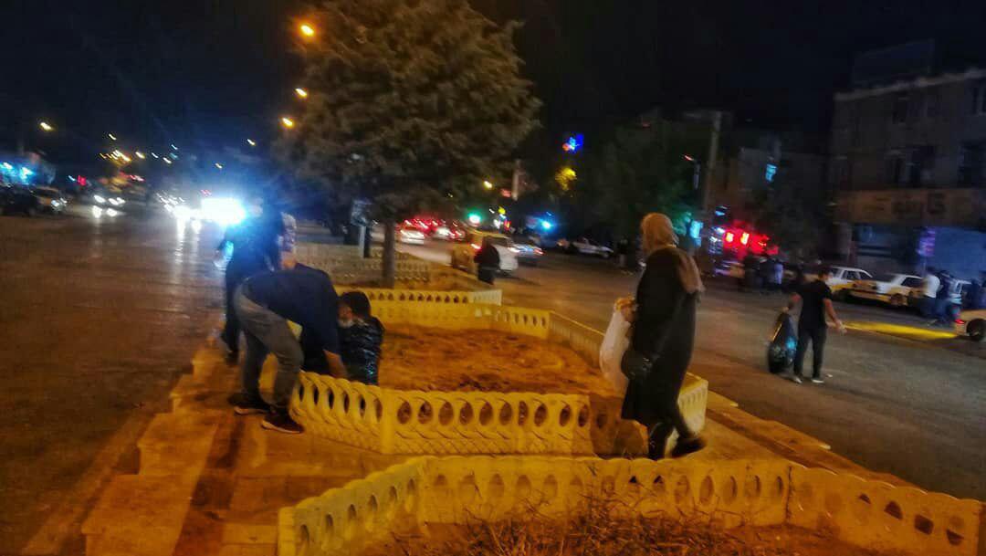 گروه تافلند برای پاکسازی سطح شهر دورود به میدان آمدند