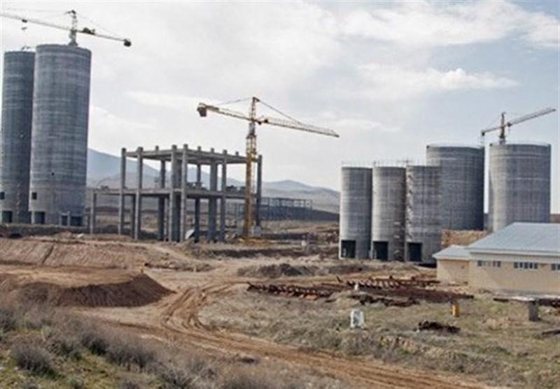 ردپای خاوری در پروژه ی کارخانه سیمان خرم آباد