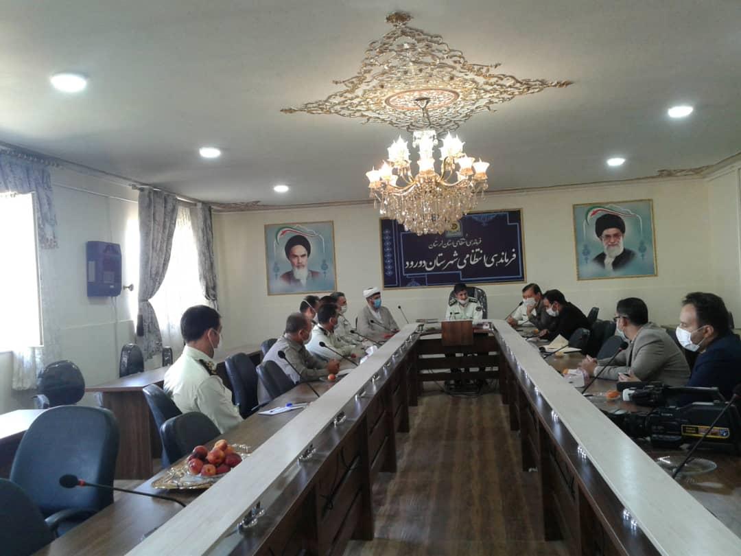 فرمانده نیروی انتظامی شهرستان دورود:مهمترین دغدغه پلیس تامین امنیت جامعه است