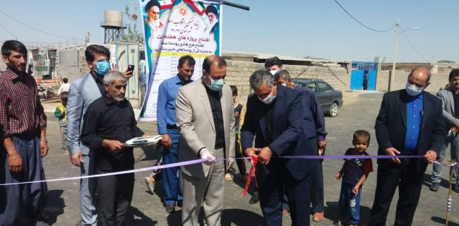 افتتاح ۱۵ واحد مسکن مددجویان کمیته امداد/بهره برداری از ۱۷ طرح هادی روستایی