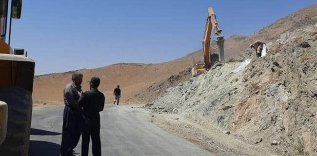 تعمیر و بازسازی جاده دسترسی ۱۱ روستای شهرستان دورود