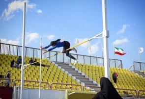 رکورد پرش با نیزه بانوان کشور توسط ورزشکار لرستانی شکسته شد
