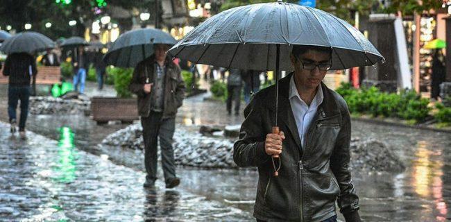 لرستان بارانی می شود/احتمال آبگرفتگی معابر