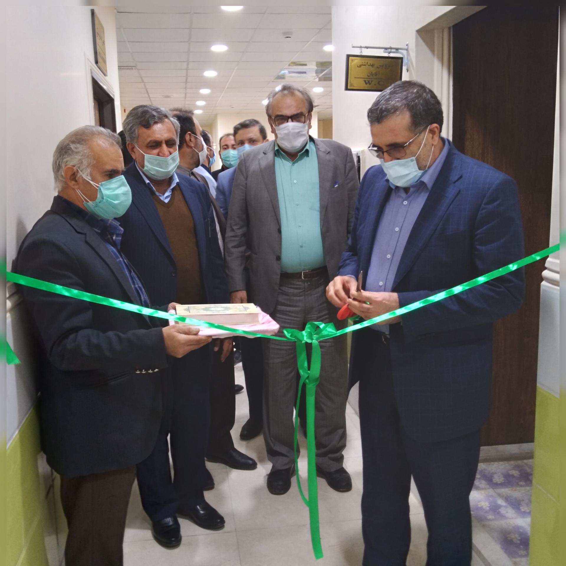 دومین آزمایشگاه تشخیصی کرونا در دورود افتتاح شد