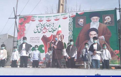 برگزاری رژه موتوری و خودرویی گرامیداشت ۲۲ بهمن در شهرستان دورود