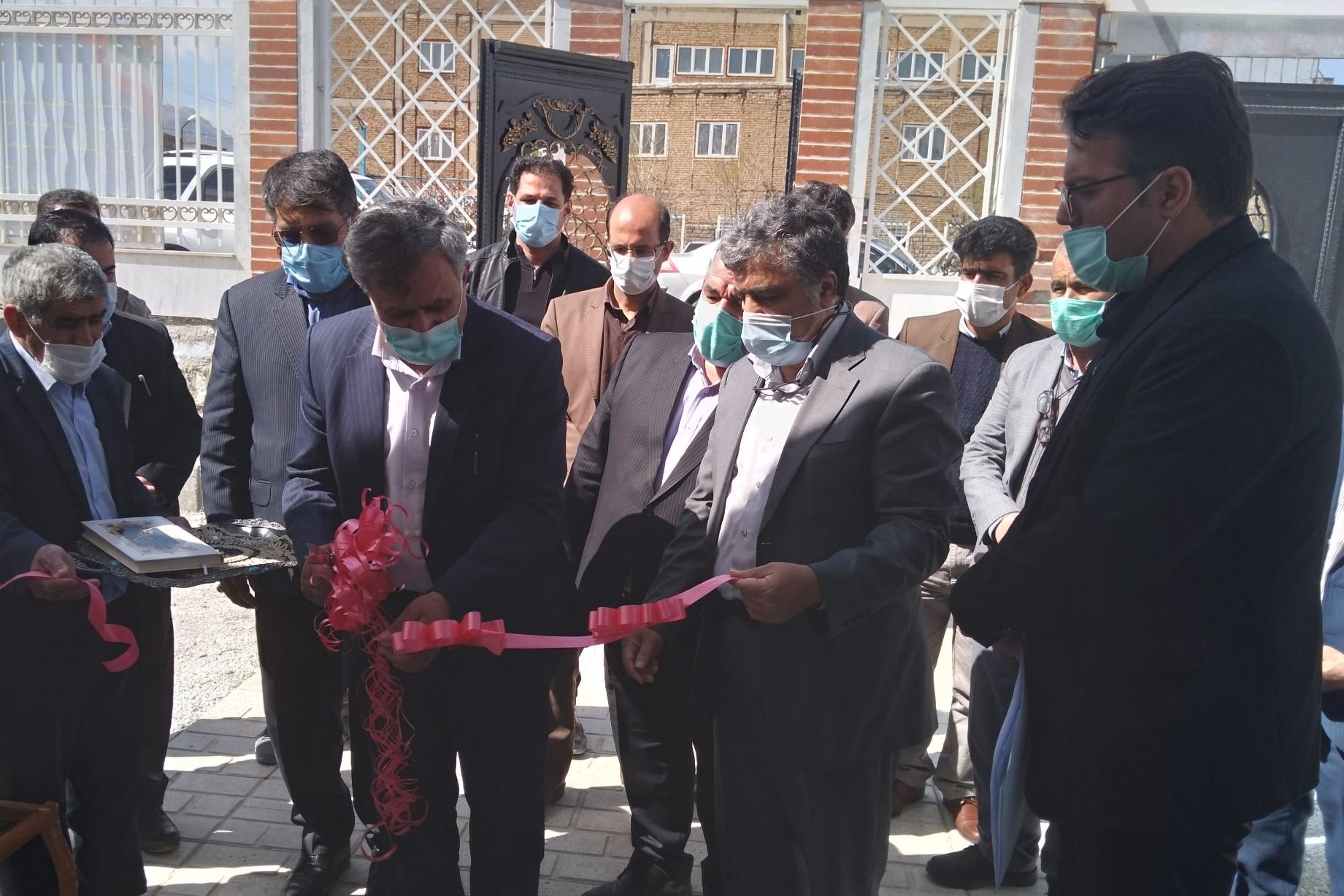 افتتاح سالن جدید بنیاد مسکن انقلاب اسلامی دورود