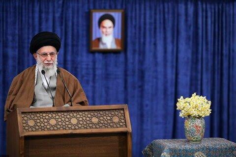 سخنرانی نوروزی رهبر انقلاب خطاب به مردم ایران