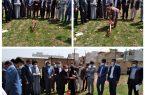 کلنگ زنی مرکز انتقال خون شهرستان دورود