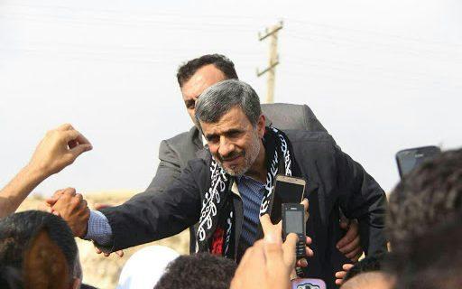سفر احمدی نژاد به شهر دورود لرستان