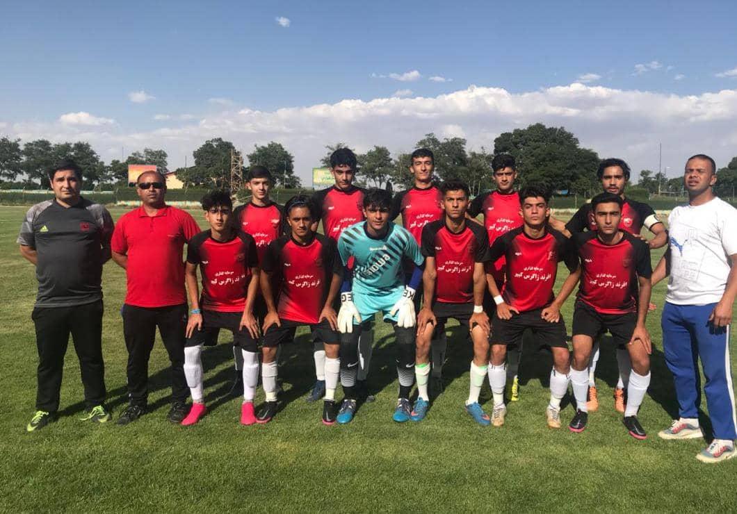 صعود تيم فوتبال نوجوانان گهر دورود به لیگ برتر