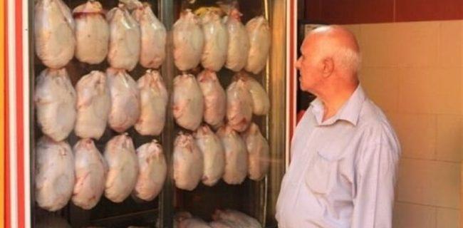 مرغ همچنان گريزان از سفره هاي مردم