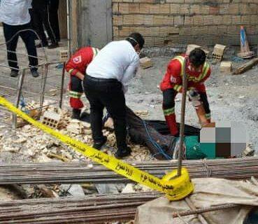 مرگ کارگر خرم آبادی بر اثر سقوط از طبقه پنجم ساختمان نیمه کاره