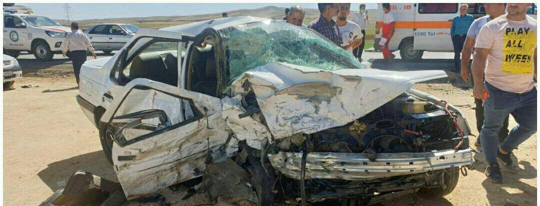 ۲ کشته و مجروح در حادثه رانندگی جاده اراک -شازند