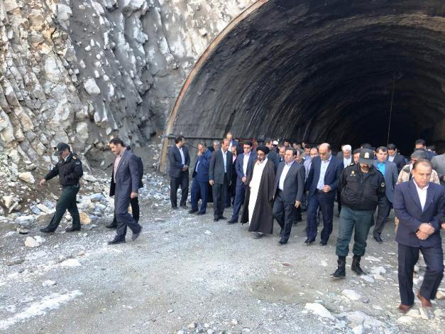 شروع ساخت تونل محور الشتر به بروجرد