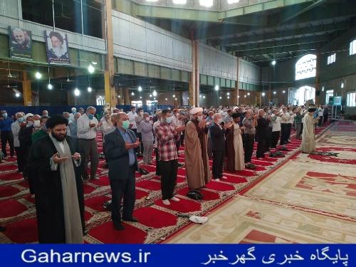 نماز عيد قربان در دورود برگزار شد